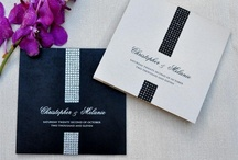 Wedding invitations bling