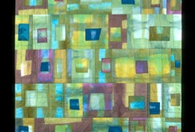 green quilts / by Carol Mercer