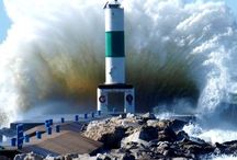 Lighthouses - power of nature, beautiful shots