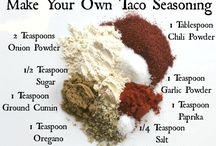 Sauces & Seasonings / DIY Food Seasoning
