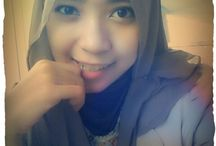 Dwina's hijab