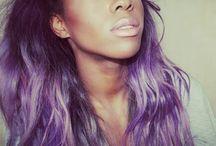 Negras com Cabelo Colorido/ Black Girl Colored Hair