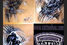 BOA Tattoo  -Art -Airbrusch-BOArt / Tattoo & Piercing BOA