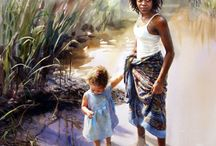 Mary Whyte / (Watercolor Artist)