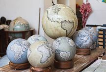 Globe-Makers That Painstakingly Make Globes By Hand