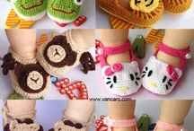 crocheted/knitted booties / by Samantha Karr-Tom