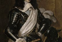 King Louis XIII of France / Louis XIII (27 September 1601 - 14 May 1643) was a monarch of the House of Bourbon who ruled as King of France from 1610 to 1643 and King of Navarre (as Louis II) from 1610 to 1620, when the crown of Navarre was merged with the French crown. He was the son of Henry IV, King of France and Marie de' Medici. Louis has been married of his wife. Anne of Austria.