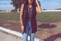 Estilo calça jeans / Inspiração de look com calça jeans.