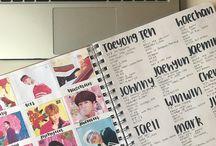 Kpop journal ideas