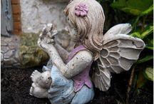 Fairy Garden Fairies for Sale in Canada / Miniature fairies for the fairy garden from www.fairygarden.ca