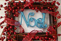 frame, wreath, new year