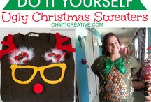 ugly Christmas sweaters / by Emily Scogin