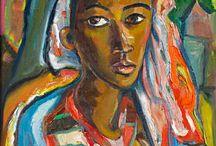 Artist: Irma Stern / #Expressionist #SouthAfricanArt