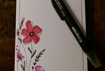 Bloemen tekenen