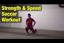 Football/wrestling/soccer/cheer workouts