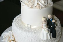 Rochelle and Alex's wedding cake