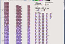 sznury szydełkowe wzory