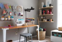 Craft rooms / by Erin Wood Miller