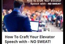 Your Elevator Speech