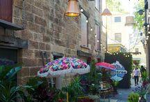 Outdoor stalls