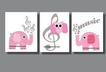 nursery music artwork for jess