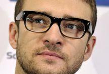 Beroemdheden met bril