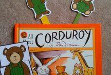 corduroy activity for school