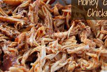 Chicken, beef, pork! / Meat