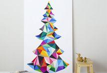 Arty Christmas / Creative Christmas