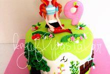 Winxclup Cake