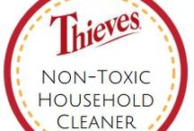 Non toxic household cleaners