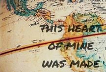 Taking myself around the world / Travels