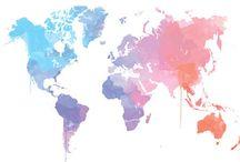 World's maps