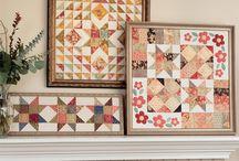Frame a quilt