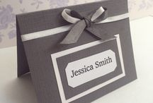 Wedding place cards / Place cards
