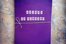 Notebook Is Singing Handmade / Collezione di quaderni fatti a mano ispirati e dedicati alla musica!