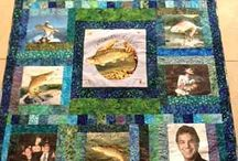 Photo Quilts / Quilts Using Printed Photos
