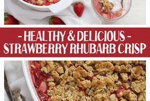 RHUBARB RECIPIES