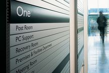 SYSTEMS / Encompass Sign System wayfinding solutions. Exclusive North American distributor.
