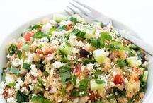 salaatit,terveyttä ja silmänruokaa
