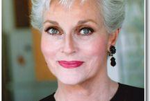 Gorgeous & Grey / Beautiful older women.