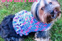Crochet Animals / Free crochet patterns of clothing and other items for all kinds of animals.