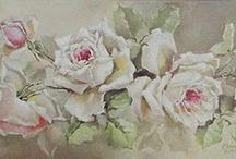 Kwiaty do Decoupage