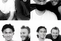 Heath Ledger and Joseph Gordon Levitt