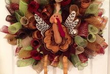 Thanksgiving / Wreath / by Emily Smith