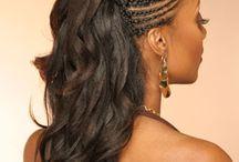 African braided hair