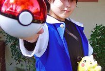 disfras entrenador Pokémon