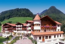 Wellnessresort Alpenschlössel & Linderhof****s / Spa Hotel in the Northern Italy. Mountain ski resort in the middle of the Alps with a real alpine lifestyle