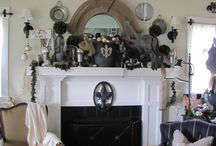 My Mom's House At Christmas 2012 / My mom's decorations at Christmas time...she does it all