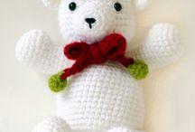 Ours de peluche en crochet